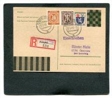 Deutschland Besetzung Franz�zische Zone R Postkarte Feldpost 1946