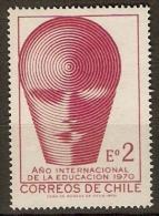 CHILI   .   1970.    Y&T N° 356 **.    Mines De Cuivre - Chile