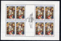 SLOVAKIA 2002 Europa: Circus Sheetlet  MNH / **.  Michel 424 - Blocks & Sheetlets