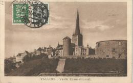 5pk679: TALINN, Vaade Rannaväravast : N°97+99 > Anvers  Belgique - Estonie