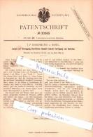Original Patent  - J. F. Rosenmund In Basel , 1884 , Landwirthschaftliche Geräthe  !!! - Documents Historiques