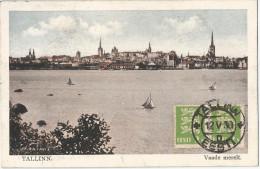 5pk685: TALLINN. Vaade Merelt + 2x N° 98 : TALLIN 12 -V.30 D EESTI > Anvers Belgique 1930 - Estonie