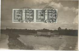 5pk622: Photpcard: HURESSAAR  * EESTI  + 4x N° 97  > Anvers Belgique 1932 - Estonie