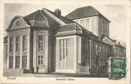 5pk624:  Dorpat  Deutsches Theater +N° 99 : TARTU  * EESTI * 11 XI 31 > Anvers Belgique 1931 - Estonie