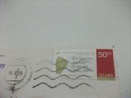 STORIA POSTALE FRANCOBOLLO COMMEMORATIVO ISLANDA REYKJAVIK - Islanda