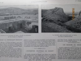 1905 Forteresse  Saidia  Maroc - Marruecos