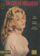 """MON FILM Spécial  N° 659  - 1959 """" EN CAS DE MALHEUR """" BRIGITTE BARDOT / JEAN GABIN - Dos: BELINDA LEE - Film"""