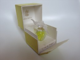 LALIQUE - L'Air Du Temps - Nina Ricci - Miniature Bottles (in Box)