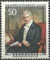 Venezuela  1969 .ALEJANDRO DE HUMBOLDT. Mi:VE 1800, Sn:VE C1012 ** MNH - Venezuela