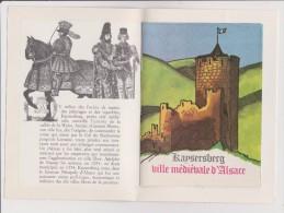 Carte Lettre - KAYSERSBERG - Dépliant Racontant L'histoire Du Village - Kaysersberg