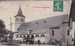 SAINTE-MARIE-DE-CAMPAN. L'EGLISE Et UN ATTELAGE. - Autres Communes