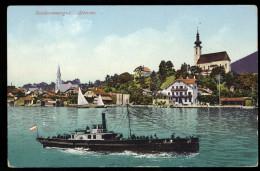 [008] Attersee, Dampfer, 1911, Bez. Vöcklabruck, Verlag Brandt (Gmunden), Nr. 882 - Attersee-Orte