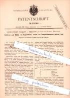 Original Patent  - John James Varley In Merton , County Of Surrey, England , 1884 , !!! - Surrey