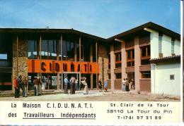 LA TOUR DU PIN: La Maison CIDUNATI Des Travailleurs Indépendants - La Tour-du-Pin