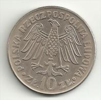 Poland 10 Zkotych 1964 AUNC- - Polonia