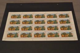 BC20-  3 sheets of 21 stamsp MNH Rwanda 1975- SC. 685-686-687- nature protection -non-normalised shipment