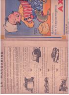 (Alb 5) Protège Cahier  Margarine  Axa Abimé - Sin Clasificación