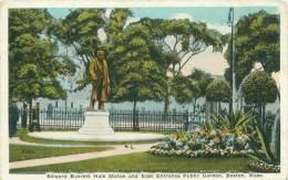 BOSTON - Edward Everett Hale Statue And East Entrance Public Garden - Boston