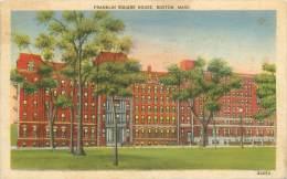 BOSTON - Franklin Square House - Boston