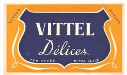 Buvard VITTEL Délices Pur Sucre Buvez Glacé - Softdrinks