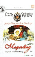 CINEMA DVD - U.K.-FRANCE 1955 - MAYERLING - OMAR SHARIF - CATHERINE DENEUVE -AVA GARDNER -JAMES MASON - DIR  TERENCE YOU - History