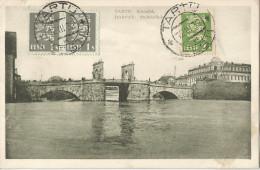 5pk626:  TARTU  Kivisild  Dorpat  Steinbrücke 2x N° 97 +98 :TARTU  * EESTI * 12 III  32 > Anvers Belgique 1932 - Estonie