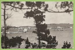 Bermuda - Hamilton Harbor - First Transatlantic Air Service - Flying Clipper Ships - Pan America. Plane. Airport. Avion - Royaume-Uni
