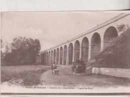77 Longueville Viaduc Besnard - Station De Longueville - Ligne De Chemin De Fer L´Est - Animée  2 Scan - Frankrijk