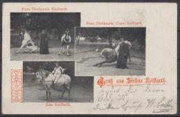 Zirkus Reiffarth, Frau Direktorin Reiffarth Mit Pferdedressur, Elsa Reiffarth Zu Pferde - Zonder Classificatie