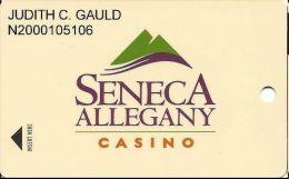 Seneca Allegany Casino - Allegany NY - Slot Card - Casino Cards