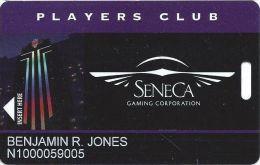 Seneca Niagara Casino - Slot Card - Innnovative Manufacturer Mark - Casino Cards