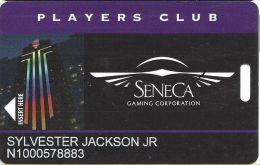 Seneca Niagara Casino - Slot Card - (I) Manufacturer Mark - Casino Cards