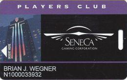 Seneca Niagara Casino - Slot Card - Graphic Controls LLC Above Mag Stripe - Casino Cards