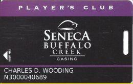 Seneca Buffalo Creek Casino - Player's Club Slot Card - Casino Cards