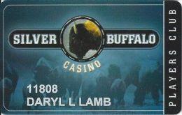 Silver Buffalo Casino - Anadarko, OK - Printed Slot Card - Casino Cards