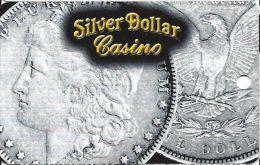 Silver Dollar Casino - Carson City, NV - BLANK Slot Card - Casino Cards