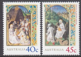 AUSTRALIA, 2001 XMAS 2 MNH - 2000-09 Elizabeth II