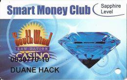 South Wind Kaw Nation Casino - Newkirk, OK - Smart Money Club Card - Slot Card - Casino Cards
