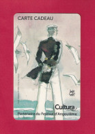 Carte Cadeau.   CULTURA   Partenaire Du Festival De La BD D´Angoulème. Corto Maltese Dessiné Par Hugo Pratt - Gift Cards