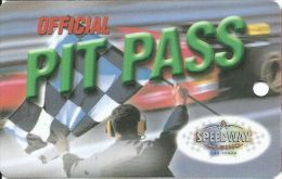 Speedway Casino Las Vegas, NV - Pit Pass Slot Card - BLANK - Cartes De Casino