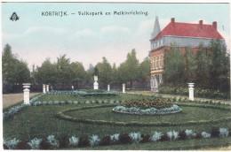 Kortrijk - Volkspark En Melkinrichting - (1918) - Belgie/Belgique - Kortrijk