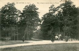 LE GAVRE(LOIRE ATLANTIQUE) CHASSE A COURRE - Le Gavre