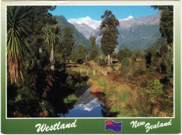 Westland - New Zealand ( Large Postcard 16 Cm X 12 Cm) - STAMP/TIMBRE: $1.10 - 18'SKIFF - Nieuw-Zeeland