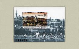 Hungary 1984. Famous Hotels Sheet MNH (**) Michel: Block 174A / 5 EUR - Ungarn
