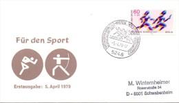 BERLIN WISSEN DEUTSCHE BUNDESPOST  1979  (F160133) - Francobolli