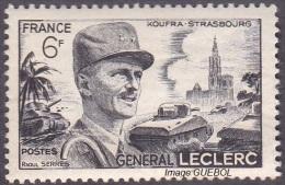 France - N°  815 * Célébrité - Général Leclerc - Cathédrale De Strasbourg - France