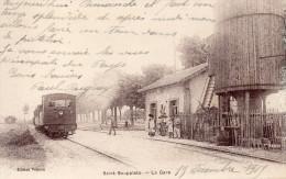 S 2    -   004      -      SAINT  -  SOUPPLETS     -       ( 77 )      -       La  Gare   - - France