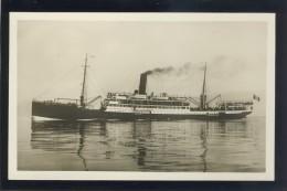 SHIP SHIFFE S/S CELIO LLOYD TRIESTINO OLD POSTCARD #209 - Piroscafi