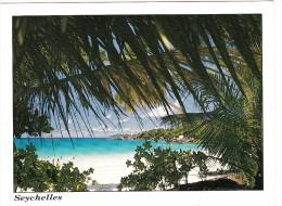Seychelles - Anse Lazio, Praslin - ( R3 'KOLIBRI  Bird/Flower 1993'  STAMP/TIMBRE ) - Seychellen