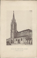 Lithographie  Eglise De Sainte Foy D´Agen  Format 16 X 25 Cm. - Lithographies